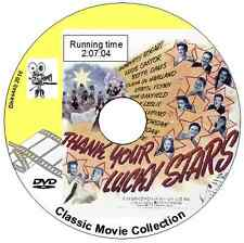 Thank Your Lucky Stars 1943 Bette Davis, Dirk Bogart, Errol Flynn Musical DVD
