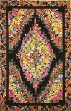 "~~ NEW ~ STRIP BARGELLO ~ QUILT PATTERN ~ 32"" X 51"" ~~"