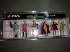 1/87 Noch 15959, 6 Ladies of the Night (Hookers) H0 Scale Figures Pre-Painted