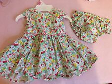 Cute Baby Girls Newborn Summer Next Dress & Matching Pants ��
