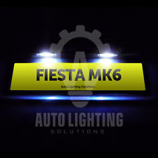 Ford Fiesta Mk6 Mk 6 ST Xenon White LED Number Plate Light Bulbs Upgrade