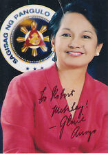 Gloria Macapagal-Arroyo, Philippines President, signed photo (SP)