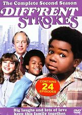 Diffrent Strokes-The Complete Second Season (3 Discs)-DVD-Region 1-Brand New-Sti