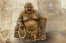 Hand crafted Large Lucky Buddha Decorative Ornament - LP14608