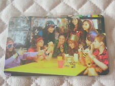 (ver. Group TYPE G) SNSD 2nd Album Oh! Photocard K-POP All Member