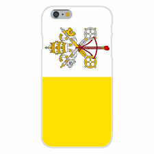 Holy See Vatican City National Flag Fits iPhone 6 Plastic Snap On Case Cover New