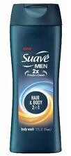 Suave Men Body Wash Hair + Body Wash 12 oz (Pack of 9)