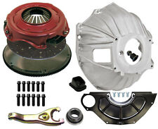 "NEW CHEVY BELLHOUSING & 11"" CLUTCH KIT,FLYWHEEL,DISC,BEARING,26SP,GM 621,3899621"