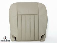 2004 Lincoln Navigator -Driver Side Bottom Replacement Leather Seat Cover TAN