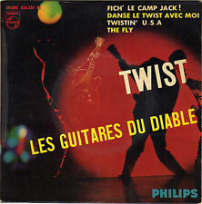 LES GUITARES DU DIABLE TWISTIN' U.S.A. FRENCH ORIG EP