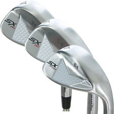 PowerBilt Golf SX-201 3-Piece Wedge Set: 52*(GW), 56*(SW), 60*(LW) - Brand New