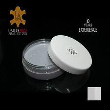 LIGHT GREY Leather Colour Repair Restorer Balm RENAULT CLIO MEGANE Interiors