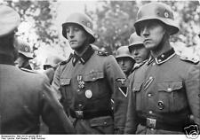 German Troops Army World War 2 Germany 1940, Reprint Photo 6x4""