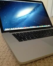 "Apple MacBook Pro 15"" 15.4"" Retina i7 2.0GHz 8GB 256GB SSD NEW BATTERY+WARRANTY!"