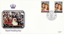 22 JULY 1986 ROYAL WEDDING PILGRIM FIRST DAY COVER WESTMINSTER ABBEY LONDON SHS