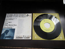 Johnny Cash A Boy Named Sue San Quentin Japan Promo Label Vinyl 7 inch Single 7""
