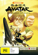 Avatar The Legend of Aang: Book 2 Earth - Volume 2 * NEW DVD *