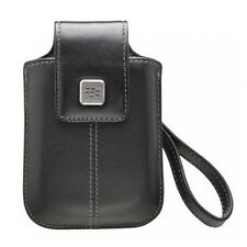 Genuine BlackBerry 9500 9800 Leather Tote Holster Case with Strap HDW-18970-001
