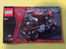 New Lego Instruction Manual ONLY Cars 2 Ultimate Build Mater 8677