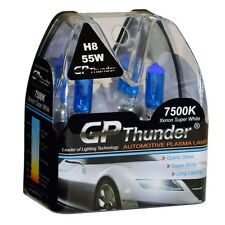GP Thunder II 7500K H8 Xenon Halogen Light Bulb 55W Super White (higher wattage)
