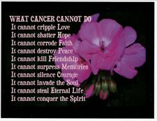 Postcard Encouragement for Cancer Patients and Families