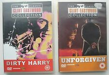 DIRTY HARRY AND UNFORGIVEN DVDS BOTH STARRING CLINT EASTWOOD