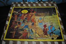 "Disney The Sword in the Stone 1963 Puzzle Wart Archimedes JAYMAR 14"" Vintage"