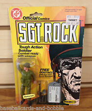 1981 Remco Sgt Rock Tough Action Soldier DC Comics Rare DOGTAG Version!