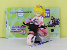 Super Mario Bros Figure 5cm Pull Back Car PRINCESS PEACH