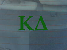 Lot of 2 Kappa Delta Window Decals - White