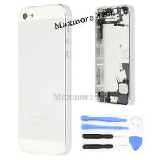 White Complete Housing Back Battery Door Cover Frame Full Assembly For iPhone 5G