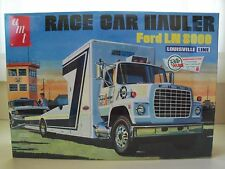 AMT -  FORD LOUISVILLE LN 8000 RACE CAR HAULER / RAMP TRUCK MODEL KIT (SEALED)