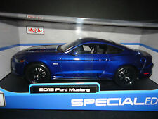 Maisto Ford Mustang GT 2015 Blue 1/18