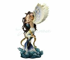 Impossible Love Angel & Mermaid Lovers Statue Sculpture By Selina Fenech