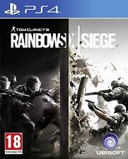 Rainbow Six Siege - PS4 - PRE OWNED - NO BOX