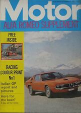 Motor magazine 11/9/1971 featuring Audi road test, Alfa Romeo, Wartburg Knight