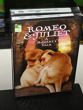 Romeo & Juliet: A Monkey's Tale (DVD) Animal Planet Video! BRAND NEW!