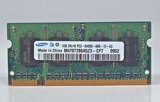 Samsung M470T2864QZ3-CF7 Genuine OEM Laptop Sodimm RAM Memory 1GB DDR2 PC2-6400S