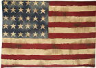 "18"" 45CM X 14"" 35CM VINTAGE FLAG USA STARS & STRIPES TAPESTRY CUSHION COVER 4801"