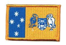 Parche bandera PATCH AUSTRALIA TERRITORIO CAPITAL CANBERRA bordado termoadhesivo