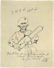 Otto Dix Prints: How I Looked as a Soldier : Fine Art Print