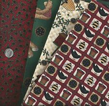 Fabric ~ Debbie Mumm ~ 100% Cotton ~ Vintage Bundle ~ 3 1/2 yds total