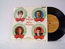 "RADIO SHACK ""WE WISH YOU A MERRY CHRISTMAS"" EP TITLES IN DESCRIPTION"