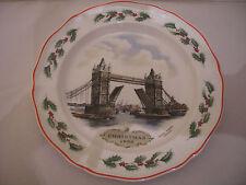 Wedgwood / England, Weihnachtsteller 1986 , 1a erhalten