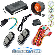 Latest Remote Engine Start Car Alarm & Immobiliser With Anti Hi-Jack Security
