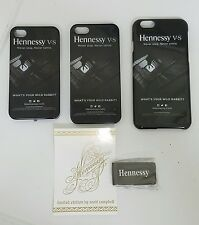 Hennessy cognac iPhone case Steel metal Money Clip lot BRAND NEW SEALED sticker
