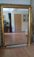 Antique Victorian Restored Large Mirror