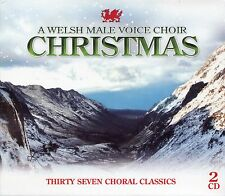 A WELSH MALE VOICE CHOIR CHRISTMAS - 37 CHORAL CLASSICS - 2 CD BOX SET