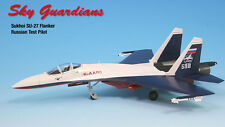 Sky Guardians Russian Sukhoi SU-27 Test Pilot Demo 1/72 Diecast Model Airplane