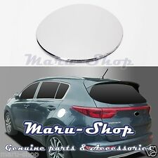 Chrome Fuel Gas Filler Door Cap Cover Trim for 17+ Kia Sportage